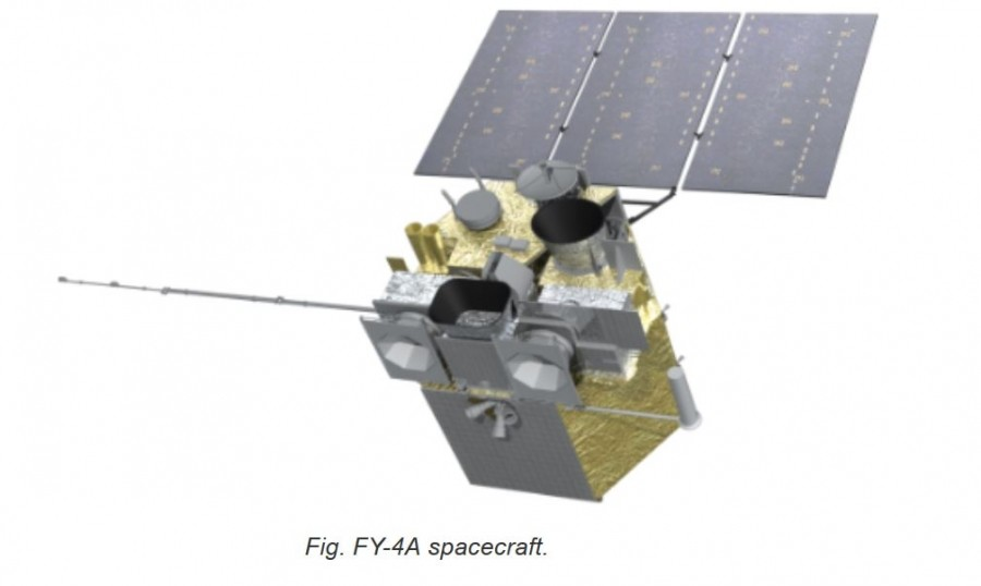 TK powers Chinese 425 GHz radiometer in geostationary orbit