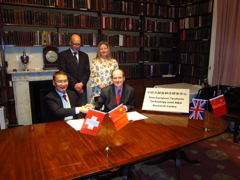 Sino-European Terahertz Technology Joint R&D Research Centre formed