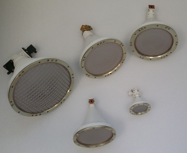 Low-X-polar compact antennas delivered to NSSC, Beijing
