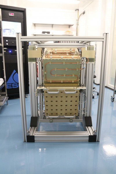 MetOP-SG Ice Clould Imager Ground Target shipped to Bern