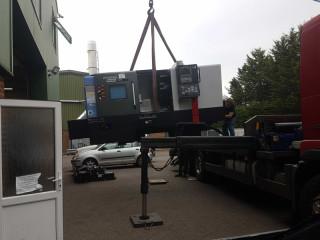 New precision CNC Lathe arrives at TK